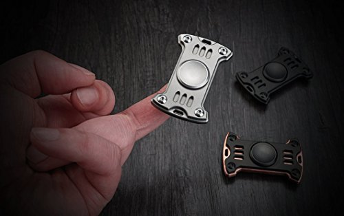 GP1 Titanium Fidget Spinner, Hand Excise, Relieves Stress and Anxiety, MecArmy (sand blasted) by MeCarmy (Image #8)