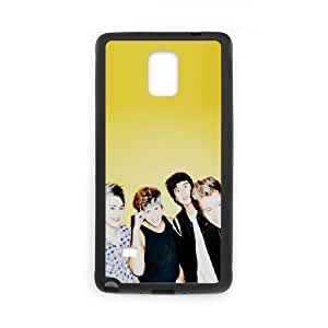 5 Seconds of Summer Samsung Galaxy Note 4 Cell Phone Case Black vem wqcx