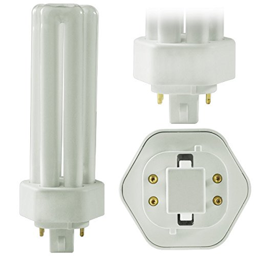 32 Watt Triple Tube Pack of 10 PLT 32W GX24Q-3 835 4-Pin Compact Fluorescent Light Bulb Sterl Lighting