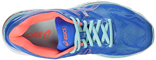 Azul Blue Mujer para Diva Gel Coral Nimbus Running Splash Zapatillas Flash Aqua Asics de 19 8Zvq0f0
