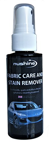 Nushine Fabric Care and Stain Remover Spray 1.7 Oz / 50ml (ecofriendly Formula)