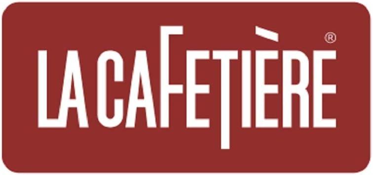 1,4 kg aprox. La Cafetiere pistacho Cafetera italiana cl/ásica para 6 tazas color negro