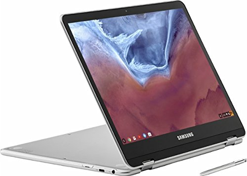 Samsung 12.3' 2-in-1 Convertible 2400 x 1600 WLED Touchscreen Chromebook Plus - OP1 Hexa-core 2.0GHz, 4GB RAM, 32GB eMMC, Bluetooth, Webcam, 10hr Battery Life, Chrome OS- Pen included