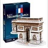 3D Arc De Triomphe in Paris Puzzle by CubicFun