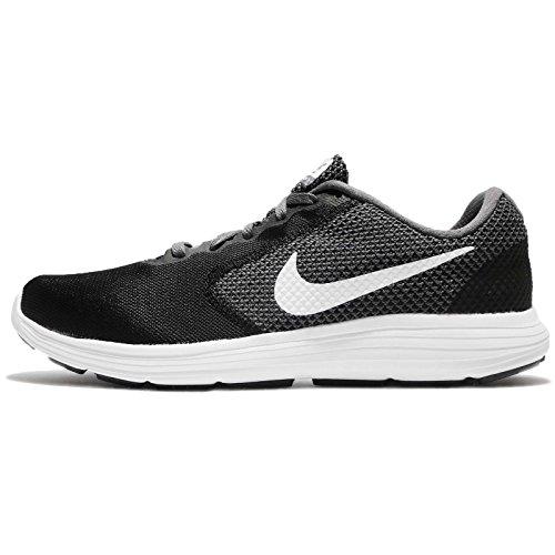 Hommes Révolution 3 Chaussures De Course, Nike Gris