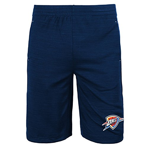 Jordan Jersey Shorts (Oklahoma City Thunder NBA Youth Free Throw Shorts Navy (Youth Medium 10/12))