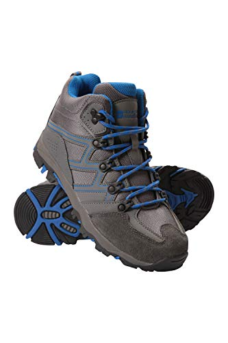 Mountain Warehouse Oscar Kids Hiking Boots - for Girls & Boys Blue 2 Child US