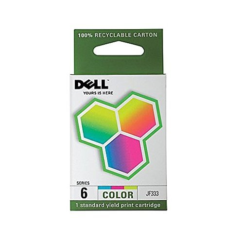 Dell Series 6 Color Ink Cartridge (Dell Jf333 Colour)