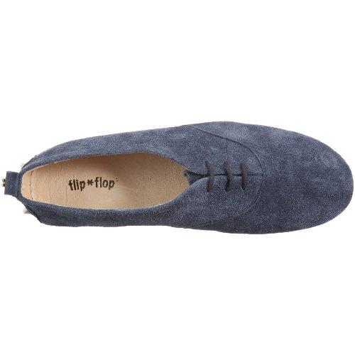 Flip Mocasines Flop de Sally 20271 ante para Azul mujer apparel SvaSw