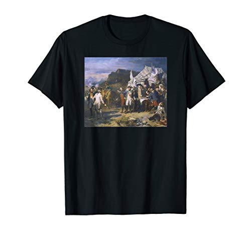 Battle of Yorktown Revolutionary Battle Washington Orders  T-Shirt