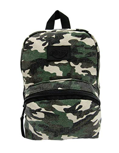 - Dickies Cotton Canvas Mini Backpack (Washed Camo, One Size)