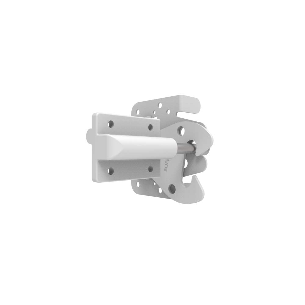 Boerboel Heavy-Duty Gate Latch 73002219 White