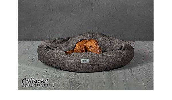 Collared Creatures Comfort Cocoon - Cama para perro 900 mm, color gris: Amazon.es: Productos para mascotas