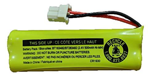 Battery  BT283482 for Vtech Cordless Telephones CS6114 CS6409 CS6419 DS6401 DS6421 DS6422 DS6423 DS6424 DS6425 DS6426 DS6472 LS6405 LS6425 LS6426 LS6475 LS6476 (1-Pack) - JustGreatDealz BT183482