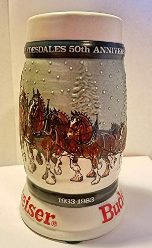 Budweiser Holiday Steins Collectible Holiday Stein Series (Year ()