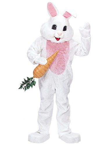 Rubie's Premium Rabbit Mascot Costume White, White, One -