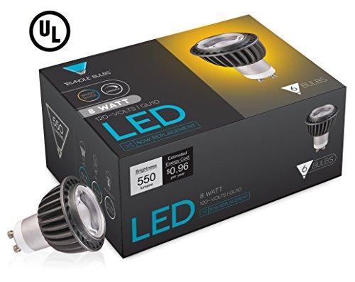 Triangle Bulbs  LED GU10 6.5-Watt, Dimmable, 50W Equivalent,