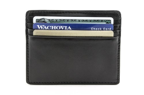 Italico Ultimo Credit Card Wallet Color: (Italico Leather)