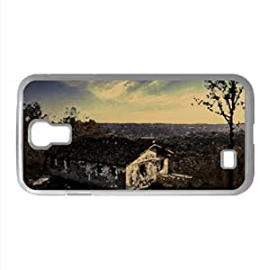 Abandoned Motel Watercolor style Cover Samsung Galaxy S4 I9500 Case (Landscape Watercolor style Cover Samsung Galaxy S4 I9500 Case)