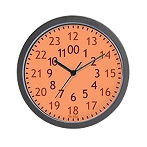 CafePress - 24 Hour Wall Clock - Unique Decorative 10
