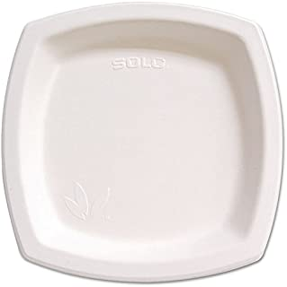 """product image for Bare Eco-Forward Sugarcane Dinnerware, 8 3/10"""" Plate, Ivory, 500 / Carton"""
