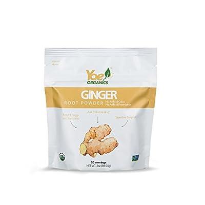 Yae! Organics Ginger Root Powder/3oz/20 Servings//100% Pure