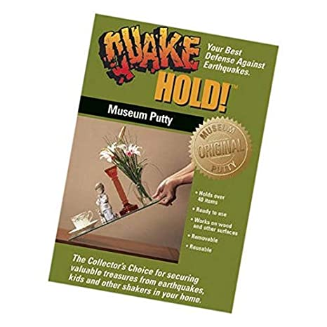 88111 Museum Putty Neutral Quakehold 2 Pack