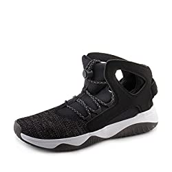 Nike Men's Air Flight Huarache Ultra Blackblackwhitevolt Basketball Shoe 8.5 Men Us