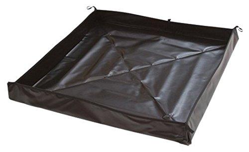 Aire Industrial 909-060604B Go-Go Berm Portable Containment, 72'' x 72'' x 4'', Black