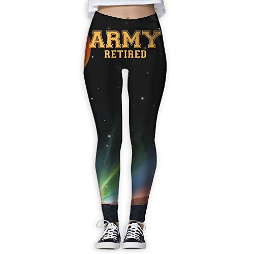 (QQMIMIG Army Retired Women's Full Length Wire-Free Pants Leggings White)
