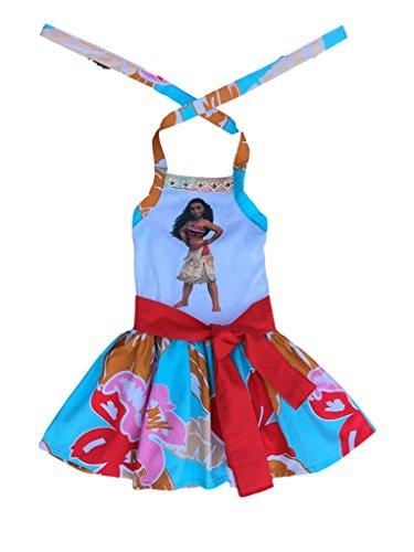 [Moana Girl Dress- Moana Girl Outift- Hawaiian Moanna Gir Dress- Moanna Girl Costume] (Hawiian Costumes)