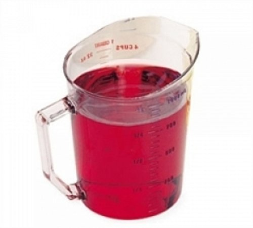 Liquid Measuring Cups By Cambro Manufacturing ( CUP, MEASURING, 1 QT POLYCARBONATE ) 1 Each / Each