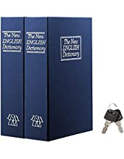 Book Safe with Combination Lock – Jssmst Home Dictionary Diversion Metal Safe Lock Box 2018