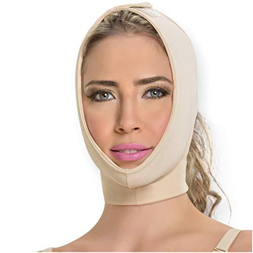 M&D M0710 Chin Compression Slimmer Strap | Mentonera Reductora Beige