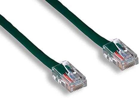 Non-Booted Assembly Cablelera 50 Category 5e UTP Network Patch Cable Comtop Connectivity Solutions Inc. ZNWN4430-50 Green Color