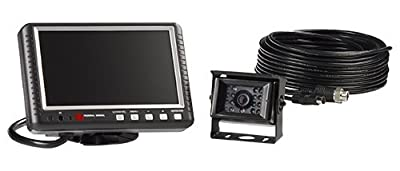 """Federal Signal CAMSET70-NTSC4B Reverse Mobile Camera System with 7.0"""" Monitor and Standard Rear-View Camera"""