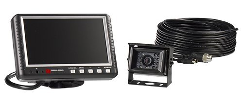 Federal Signal CAMSET70-NTSC4B Reverse Mobile Camera System with 7.0'' Monitor and Standard Rear-View Camera