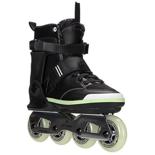 最初マインドフル与えるK2 Skate Uptown Inline Skates, Black/Silver/Lime, 11.5 [並行輸入品]