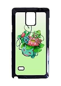 Engood Design Pokemon Bulbasaur Venusaur Ivysaur Case Durable Unique Design Hard Back Case Cover For Samsung Galaxy Note 4 New