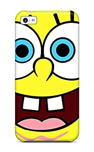 Tough Iphone PBLbQ3176GpRFu Case Cover/ Case For Iphone 5c(spongebob)