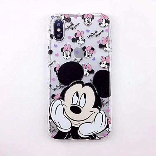 Carcasa de dibujos animados micky para funda iphone 8 7 plus 6 6