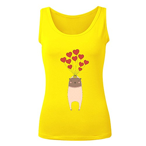 Icefish Custom Bear With Love Women Vest - Square With Jaws Men