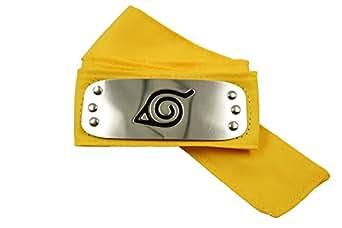 Dancingstars Sage/Sennin Mode Konoha Ninja Cosplay Headband (Yellow)
