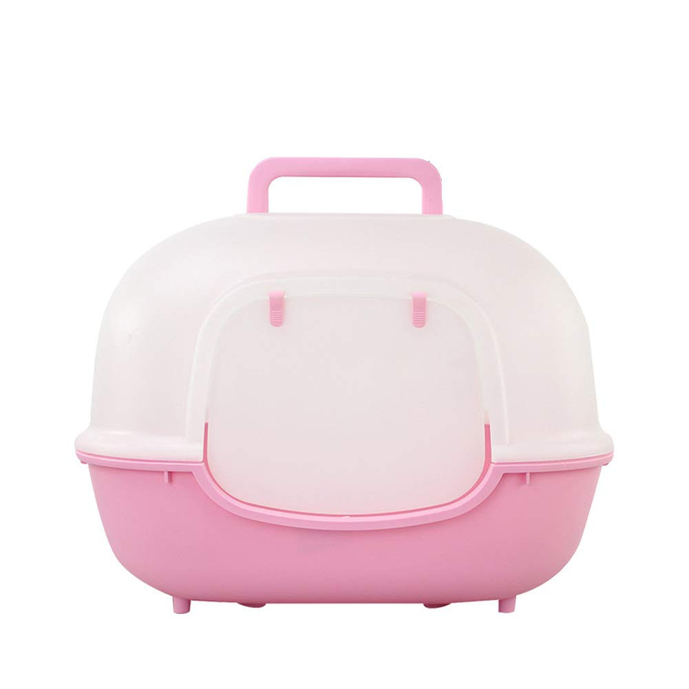 ZXHHL Fully Enclosed Wide Door Single Layer Litter Box