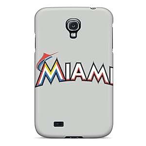 New Premium Flip Case Cover Baseball Miami Marlins 2 Skin Case For Galaxy S4
