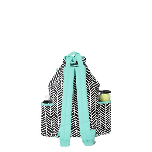 Ame & Lulu Kingsley Tennis Backpack (Black Shutters) by Ame & Lulu (Image #1)