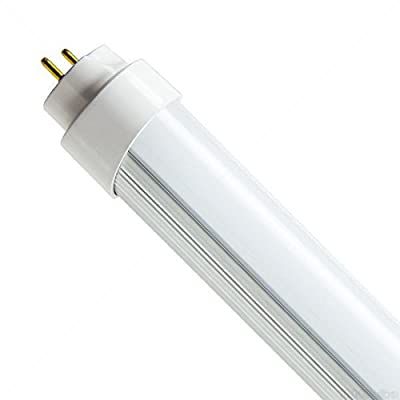 20W T8 LED Hybrid Bulbs Compatible for Troffers With or Without Ballasts 4 ft. Tube 4000 Kelvin Euri ET8-1140H