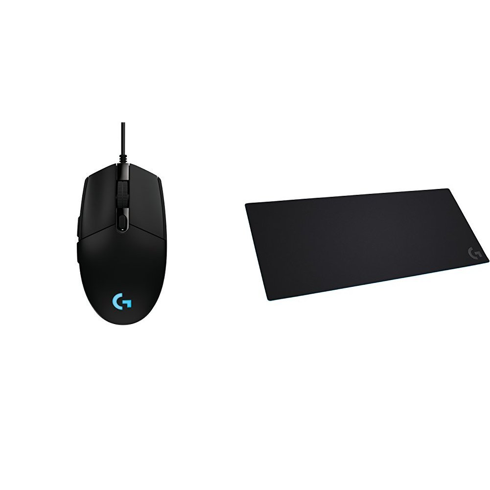 G203 Prodigy RGB Wired Gaming Mouse & Logitech G840 XL Cloth Gaming Mouse Padbundle