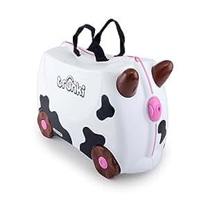 Trunki: The Original Ride-On Suitcase NEW, Frieda (White)