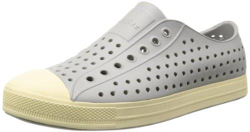 Native Unisex Jefferson Fashion Sneaker,  Pigeon Grey,12 US Men/14 US Women